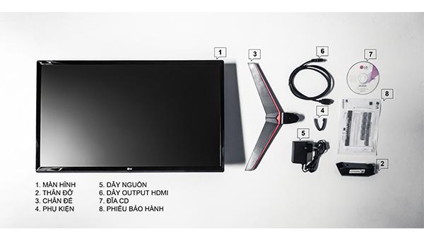 Màn hình máy tính LG 27MP59 (27 inch/FHD/LED/IPS/250cd/m²/DP+HDMI+VGA/75Hz/5ms)