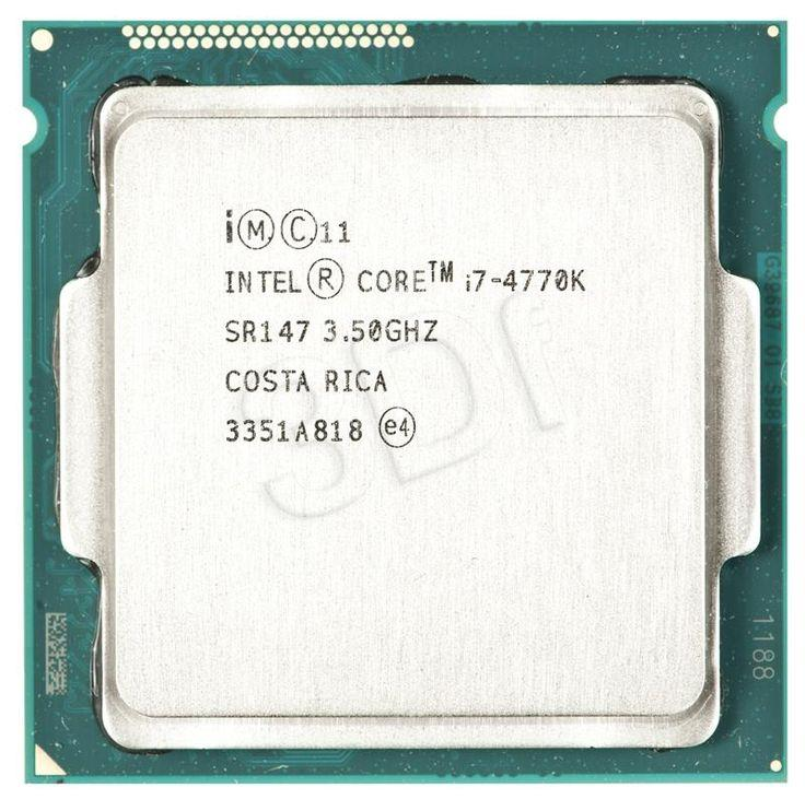 Bộ xử lý Intel® Core™ i7-4770K 8M bộ nhớ đệm, tối đa 3,90 GHz